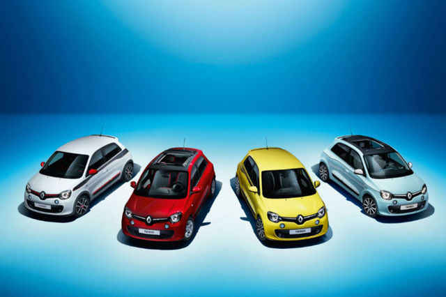 The new Renault Twingo features a rear-mounted engine and now comes with five doors