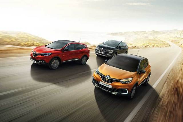 The Renault crossover range