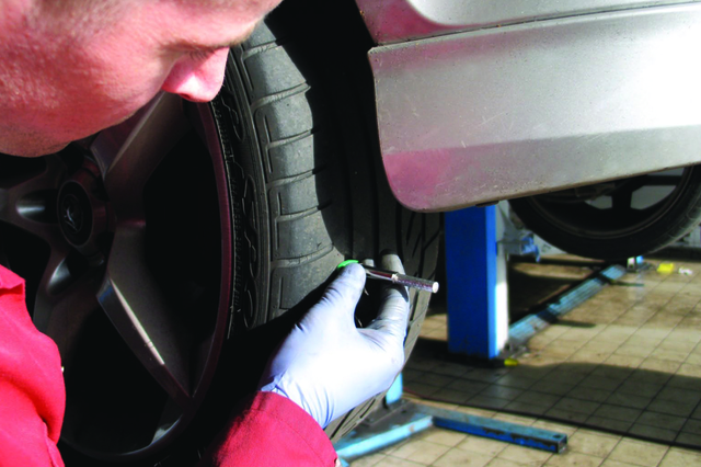 It is important to check your tyre pressure as often as once a month to decrease fuel costs and keep you safe on the road