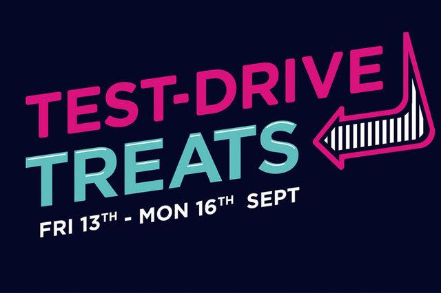 Test Drive Treats!