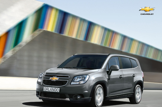 The Chevrolet Orlando is an ideal rental vehicle, offering ample space for all types of precious cargo!