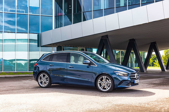 The new Mercedes-Benz B-Class is now available to order