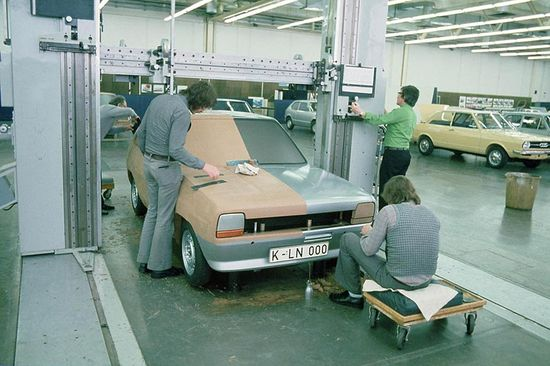Production of the first Ford Fiesta begins in 1974.