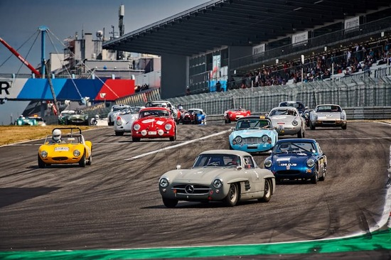 The Nürburgring, a world-famous racetrack