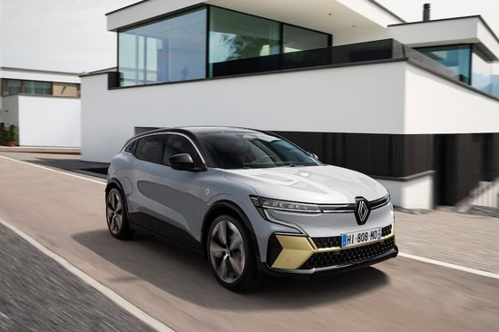 The stylish new Renault Megane E-Tech all-electric