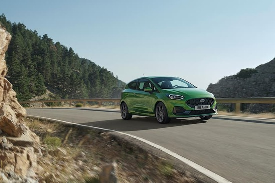 The facelifted Ford Fiesta for 2022