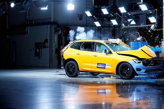 Euro NCAP safety tests