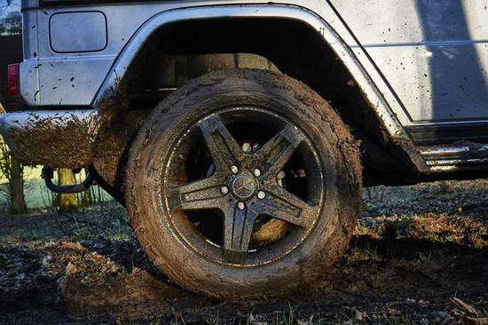 Be prepared to get muddy on an off-road adventure.