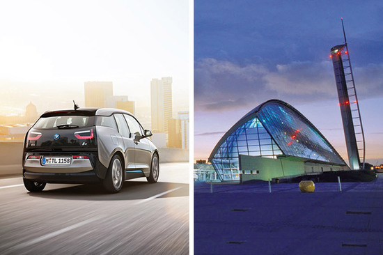 Be one of the first to see the brand new, all-electric BMW i3 at Glasgow Science Centre on Monday 7th October