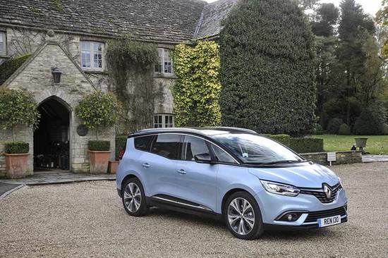 The Renault Grand Scenic is a great option for families looking for more room