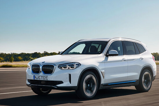 The all-electric BMW iX3.