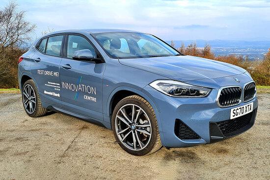 The BMW X2 xDrive25e