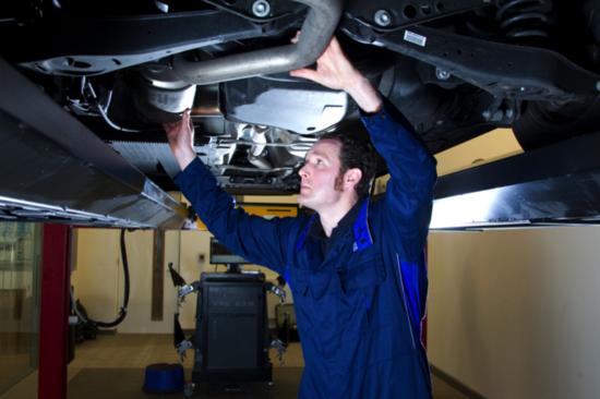 Arnold Clark car mechanic