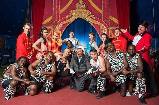 Circus Starr members