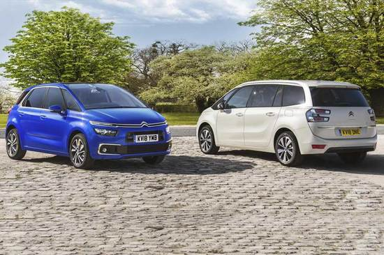 The new Citroën C4 SpaceTourer and Grand C4 SpaceTourer.