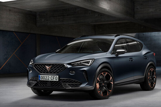 The new Cupra Formentor.