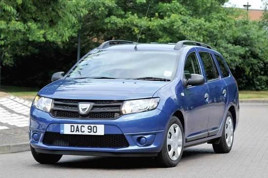 The Dacia Logan, an ideal family car.