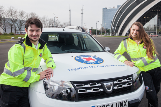 A Dacia Duster is helping save lives with St Andrews First Aid