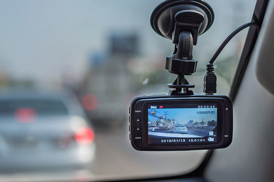 Black is the best colour to opt for when buying a dash cam