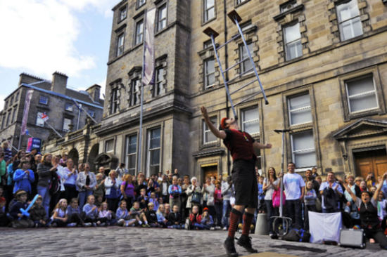 The Edinburgh Festival will host an array of exciting performers