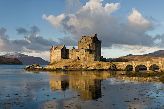 Eilean Donan Castle in Scotland is recognised all around the world.