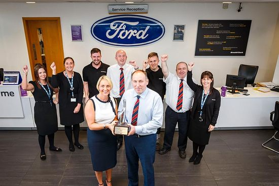 The team at Linwood Ford