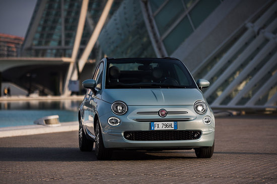 The all-new Fiat 500