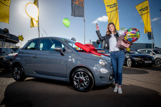 Lynn collected her car at Paisley Fiat.