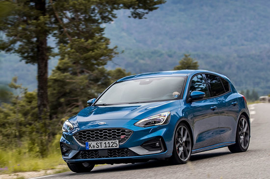 The all-new Ford Focus ST