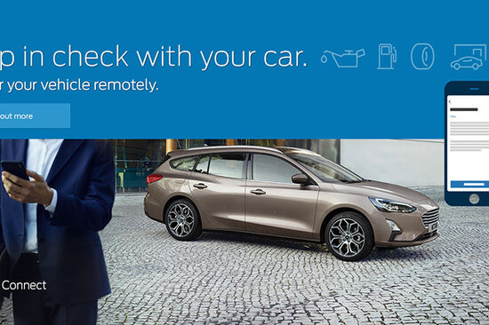 Stay connected with the FordPass app.
