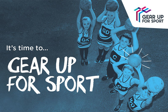 Gear Up For Sport is back for 2018!