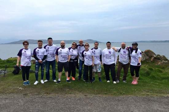 The Greenock Volkswagen cycling team