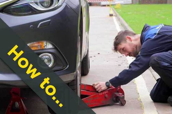 Find out how to safely jack up your vehicle