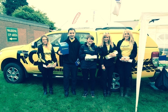 Arnold Clark Roadies attend Staffordshire County Show