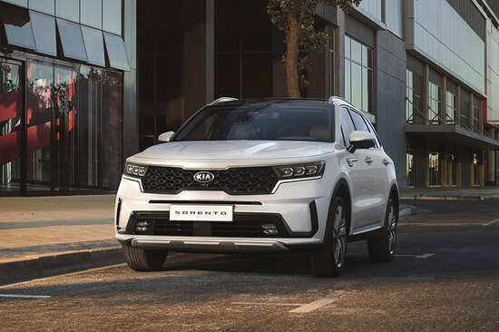 The all-new Kia Sorento 2020.
