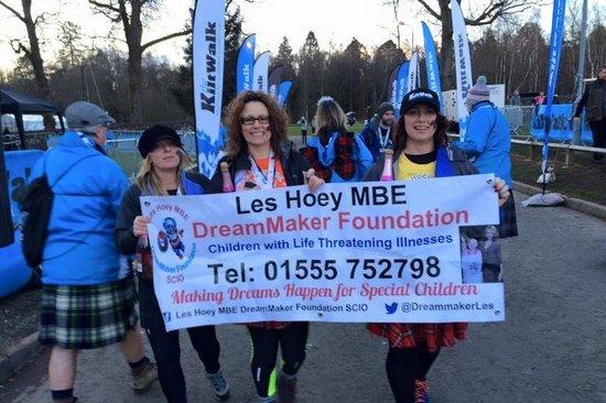 2015 Kiltwalkers for the Les Hoey MBE DreamMaker Foundation