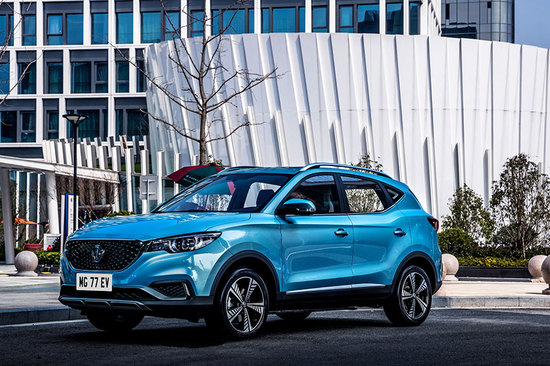 The all-electric MG ZS EV