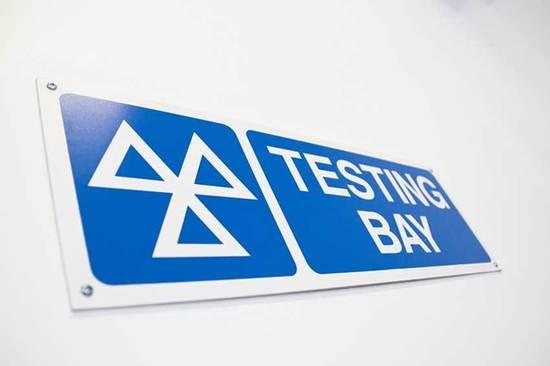 MOT testing bay