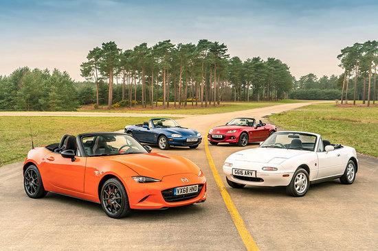 The Mazda legacy