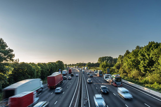 There are 2,173 miles of motorway in the UK.