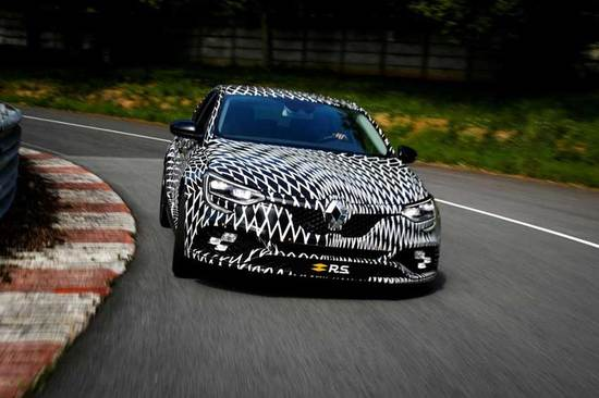 A preview of the new Megane RS.