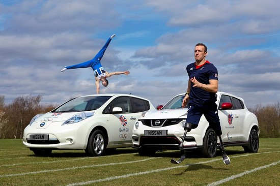 Nissan will provide over 4500 vehicles to support Olympic and Paralympic events