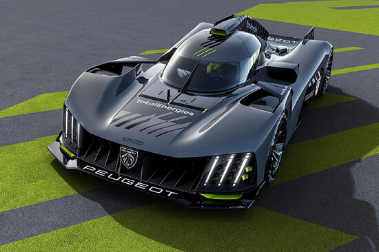 Made for the track: the Peugeot 9X8 hypercar