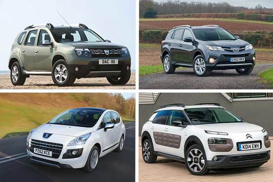 Which SUV will you choose?
