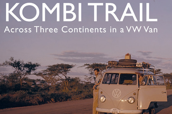 'The Kombi Trail: Across Three Continents in a VW Van' tells the story of a road trip made by nine British students in two VW Kombis in 1961