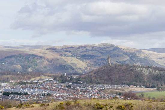 A view over Stirling.