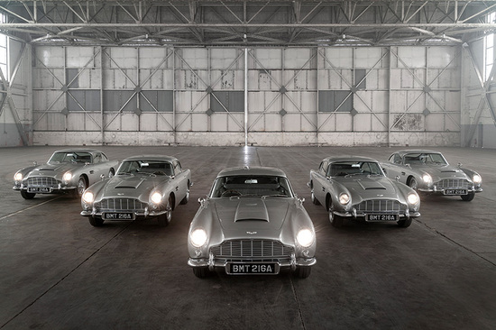 The Aston Martin DB5 will forever be associated with 007.