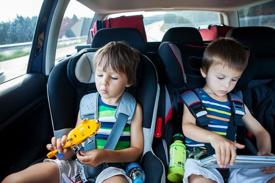 Keep kids entertained on long journeys in the car