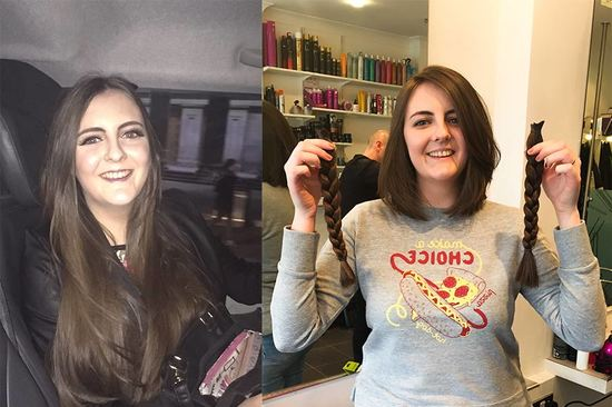 Emma –before and after!