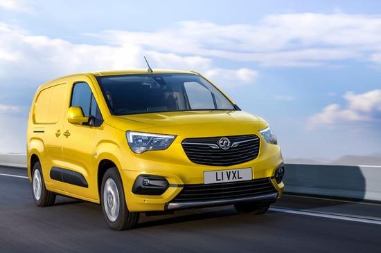 Mustard paintwork, greener power: The Vauxhall Combo-e van